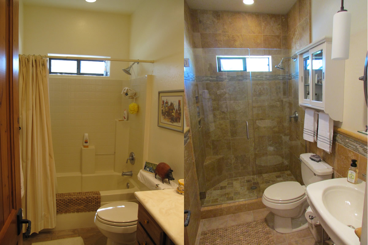 Our Restoration Process Transforms Your Existing Tub And Tile Quickly! No  Messy Demolition And We Save You Thousands Over The Cost Of Replacement.
